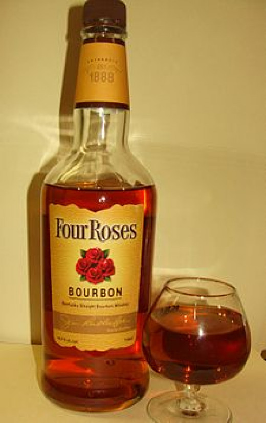 Four Roses - My choice for the Bacon Whiskey