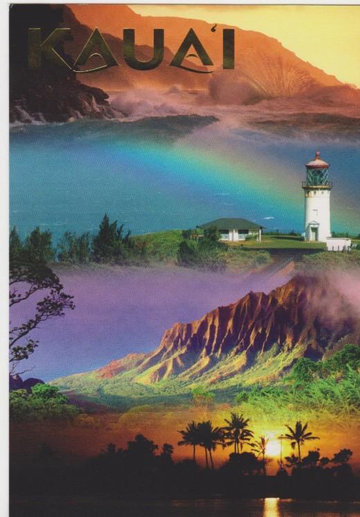 Kaua'i Postcard