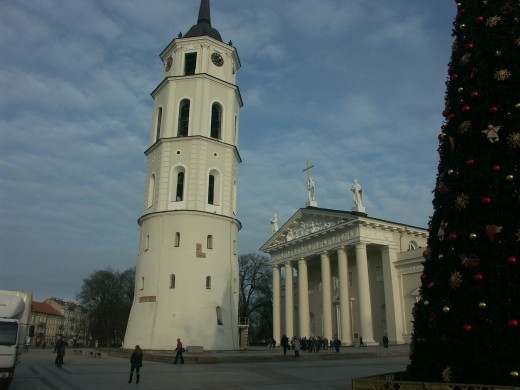 Vilnius, the Central Cathedral