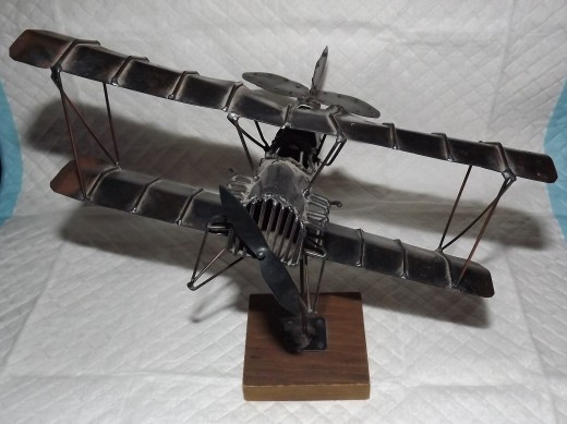 An Old Handmade Biplane Found at a Liquidation Center