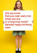 Funny belated happy birthday wishes: Late birthday messages and greetings