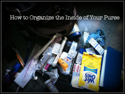 How to Organize the Inside of Your Purse