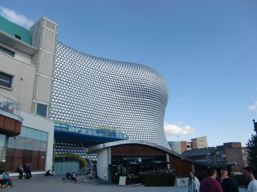Selfridges Store at the Bullring shopping centre