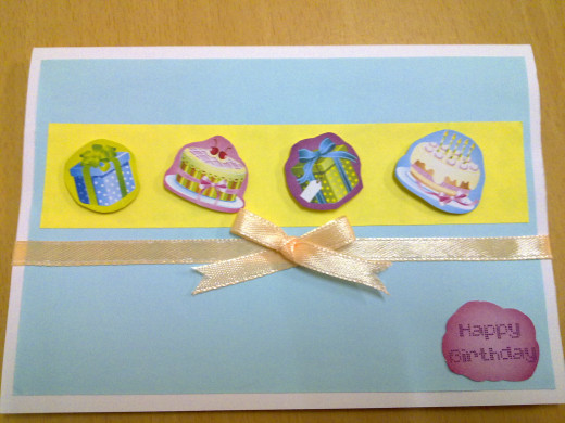 Pop up Birthday Card - Front