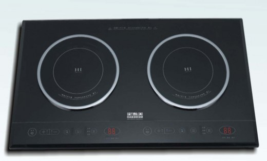 Double Stove Induction Cooker