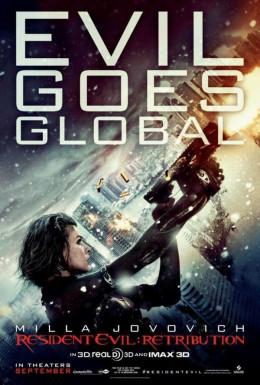 Resident Evil Retribution (2012) poster