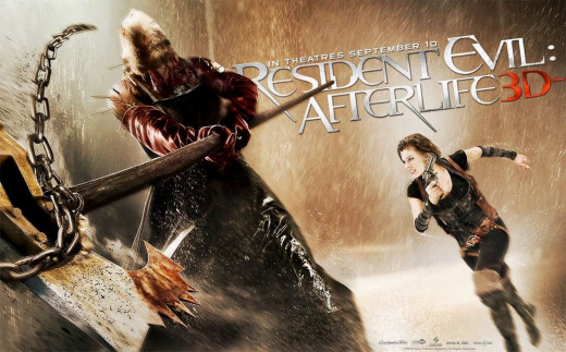 Resident Evil Afterlife (2010) poster
