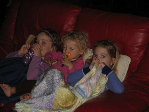 Have a Halloween movie marathon with your kids!