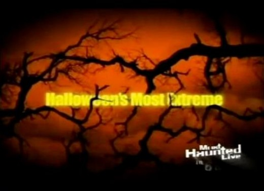"The Travel Channel has some excellent Halloween specials, including ""Halloween's Most Extreme."""