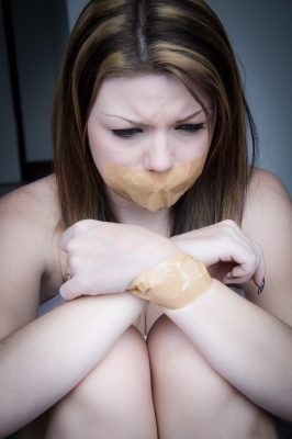 A feeling of powerlessness is common for abused women.