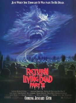 Return of the Living Dead II (1988) poster
