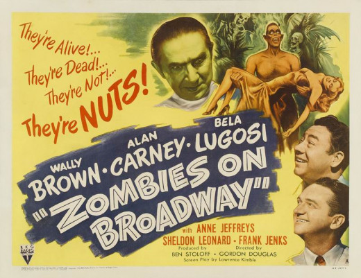 Zombies on Broadway (1945) poster