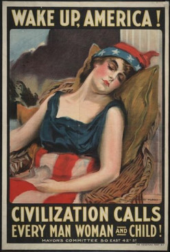 James Montgomery Flagg's World War 1 Propaganda  Posters