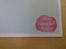 "paste ""HAPPY BIRTHDAY"" message at the right hand side bottom corner"