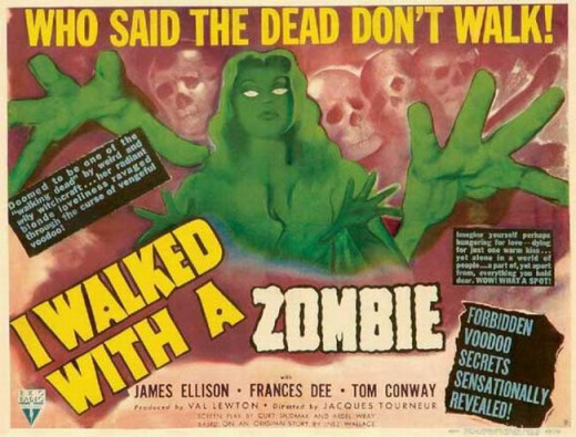 I Walked With a Zombie (1943) poster