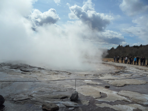 Geyser at Strokkur