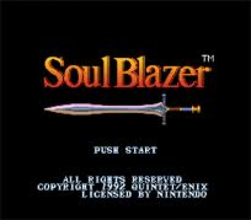 Soul Blazer was a role playing game made for the Sega Genesis that included many puzzles and clues in order to succeed.