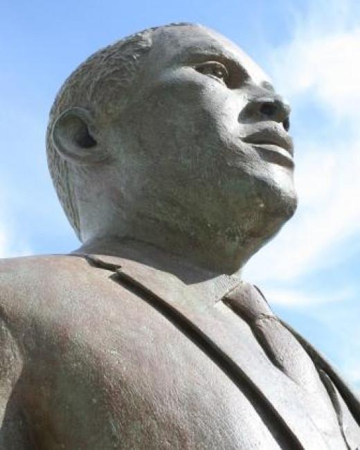 Chief Albert Mvumi Lutuli - first African winner of the Nobel Peace Prize