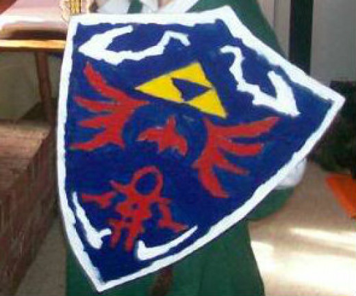 Shield for a Link Costume