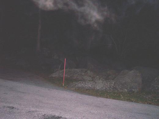 Apparition or smoke?