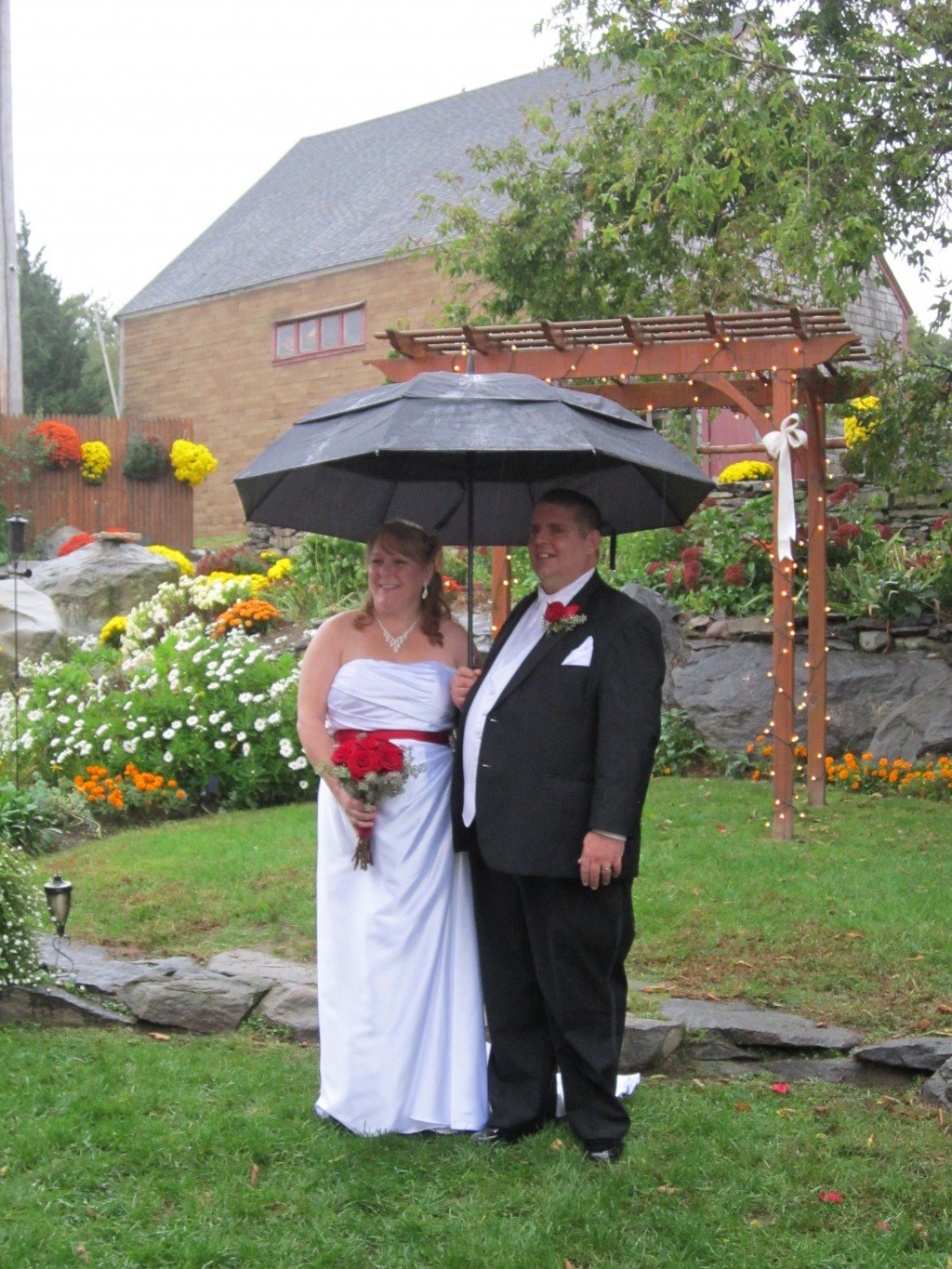 Chamberlain farm and pavilion photo review plan the for Outdoor wedding venues ma