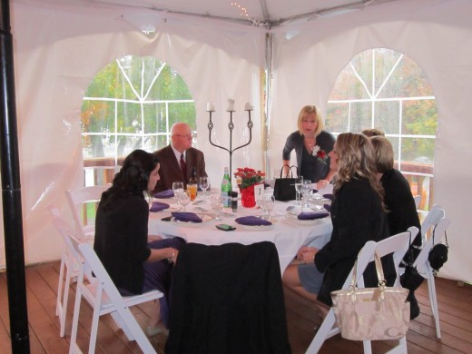 Dine In Class at Chamberlain Farm Pavilion!