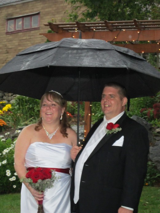 Rain or Shine, Your Wedding Will Go On at Chamberlain Farm!