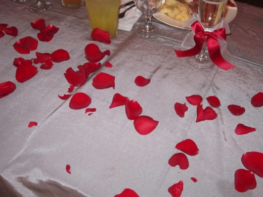 Red Rose Themed Wedding at Chamberlain Farm