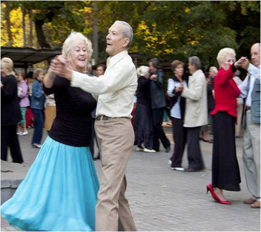 Dancing is great Exercise for Seniors