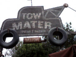 Review of Mater's Junkyard Jamboree Attraction at Cars Land in Disneyland