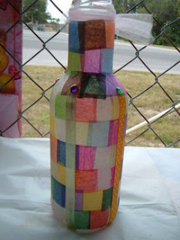 Make a beautiful pot out of waste materials for Waste to useful crafts