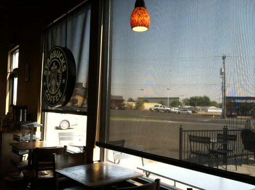 Plaza Starbucks in Walla Walla, Where Caffeine Fuels the Hubs