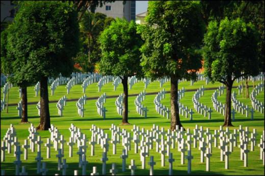 The Manila American Cemetery and Memorial (photo by: Alejandro Molina Jr)