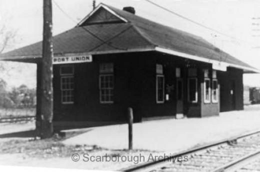 C.N.R. Railway Station, Port Union