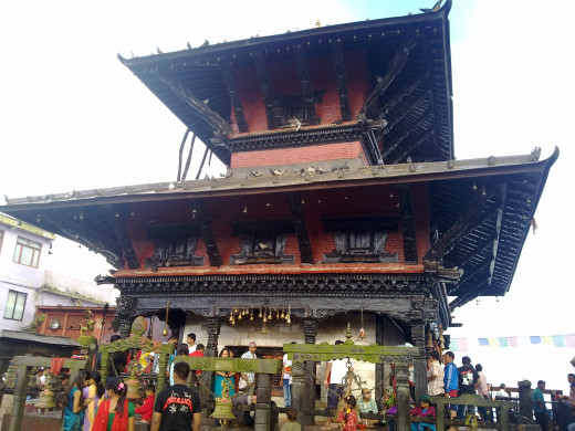 Manakamana Temple in Nepal