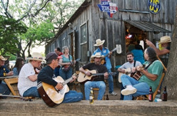 "RURAL AMERICANS KNOW HOW TO MAKE THEIR OWN MUSIC. OR LISTEN TO ""OUR"" OWN MUSICIANS LIKE HANK, SR., ERNEST TUBB, AND LYNYRD SKYNYRD."