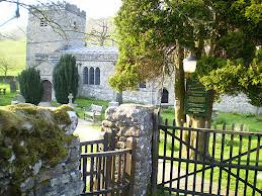 ...the church gateway (the point of no return for potential grooms), and leads on to....