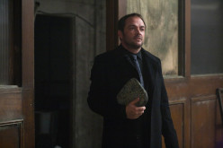 "Crowley From ""Supernatural"" and His Red Smoke."