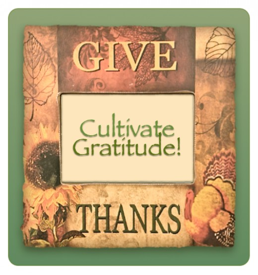 Giving thanks is an important attitude.  It's not just a holiday to be grateful for and enjoy.