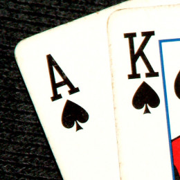 Ace and King of spades