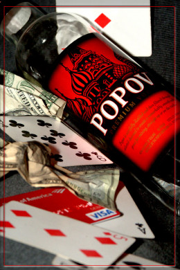Alcohol and gambling seem to go hand in hand!