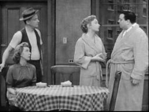The HoneyMooners is a classic sitcom featuring Jackie Gleason. It was about a simpler time in the life of a husband and his wife.