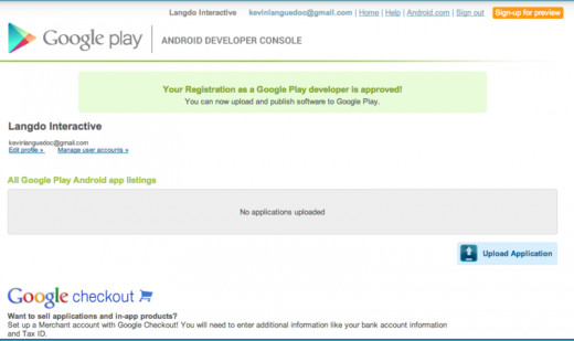 How to publish android apps to google play - Google play store developer console login ...