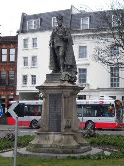Edward VII Statue, Forbury Road, Reading