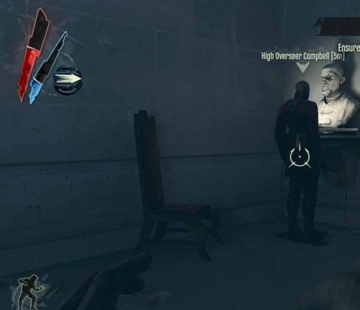 Dishonored chase after High Overseer Campbell and eliminate him.