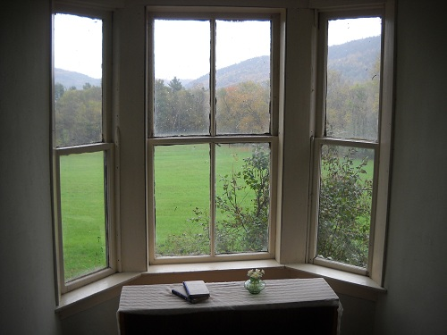 View from the Dormer Window in the Early Autumn