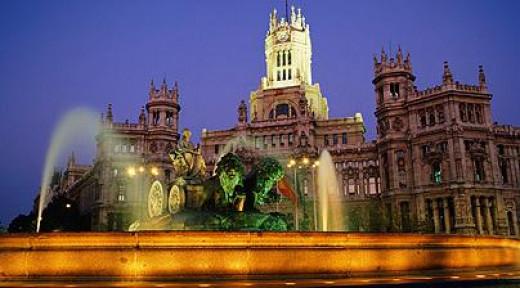Plaza de Cibeles,