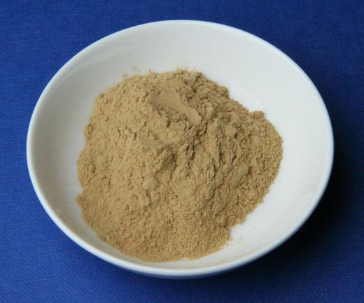 Medicinal clay (dry).