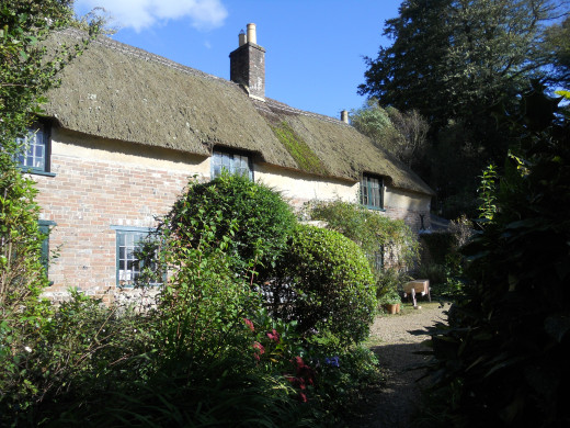 Hardy's cottage. The house where he was born and grew up.