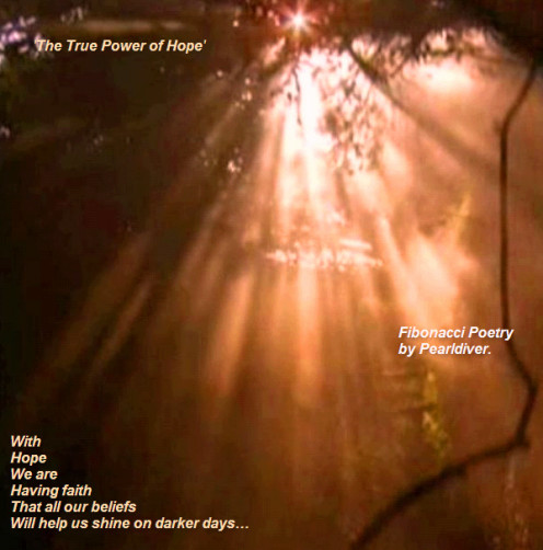 With Hope - Copyright © 2012 - 2013 Pearldiver Poetry with all rights reserved.